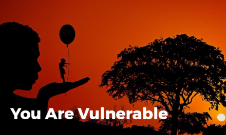 You Are Vulnerable