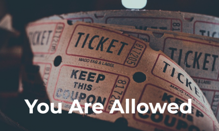 You Are Allowed